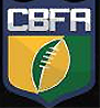 CBFA logo for Confederación Brasileña de Futbol Americano.