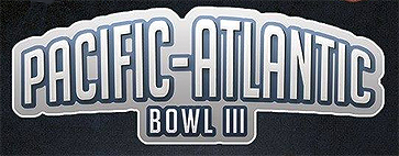Logo for Pacific-Atlantic Bowl III.