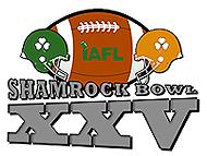 Shamrock Bowl XXV sticker image.