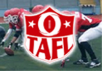 Turkey American Football League (TAFL) logo.