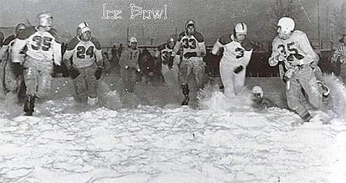 Ice Bowl 1950, Fairbanks, Alaska.