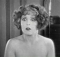 Clara Bow. Motion picture still from 'Wings' (1927)